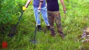 Metal Detecting With A Partner