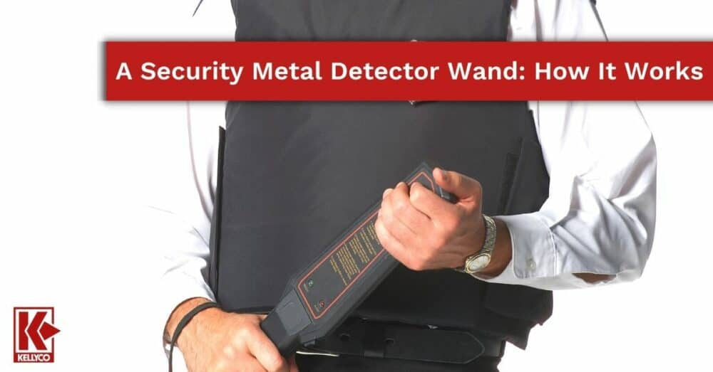 A Security Metal Detector Wand: How It Works
