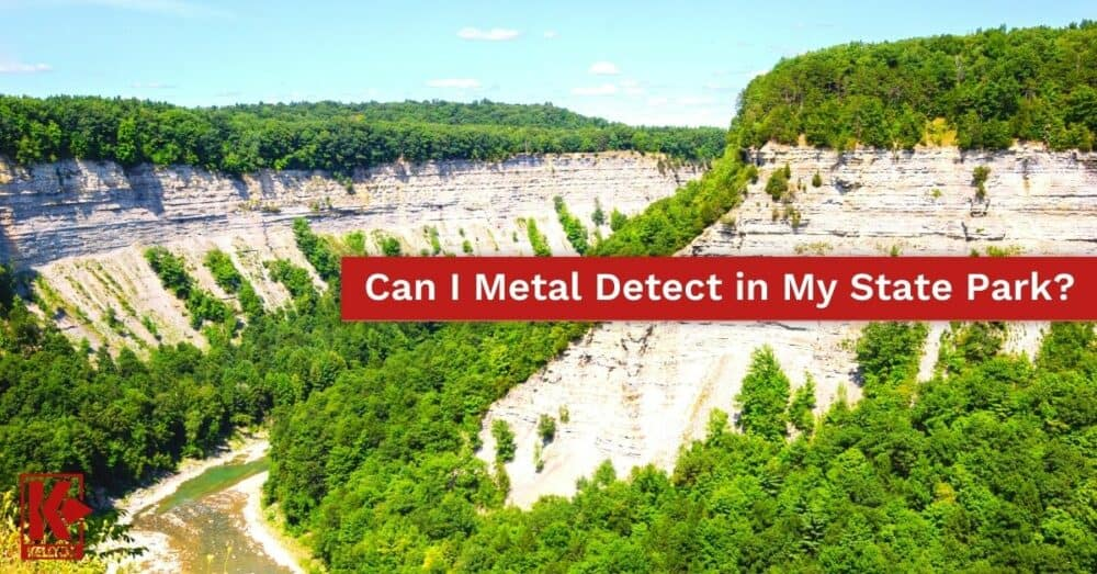 Can I Metal Detect in My State Park?