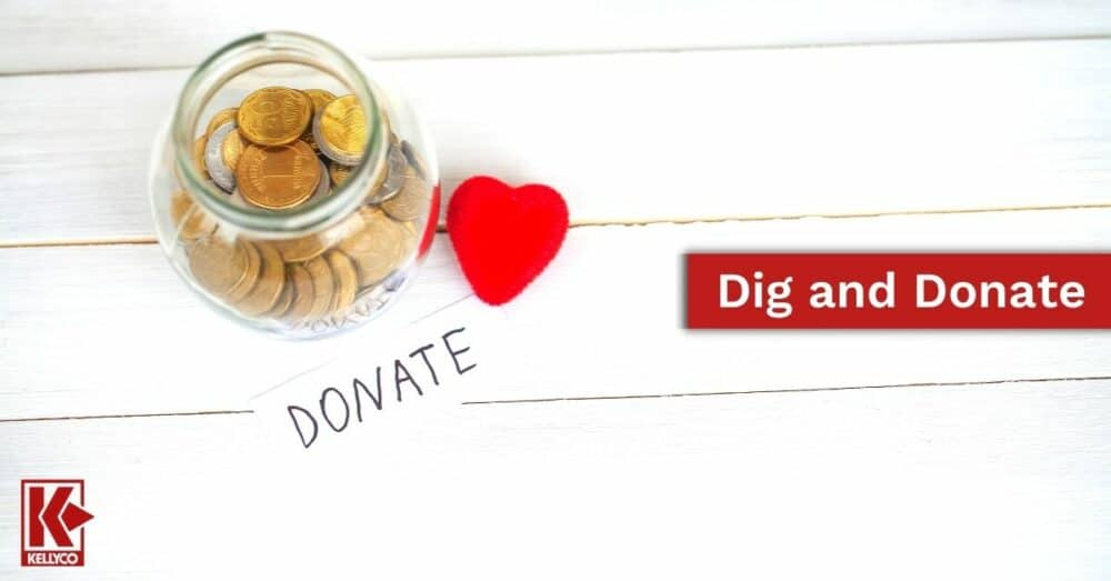 Dig and Donate