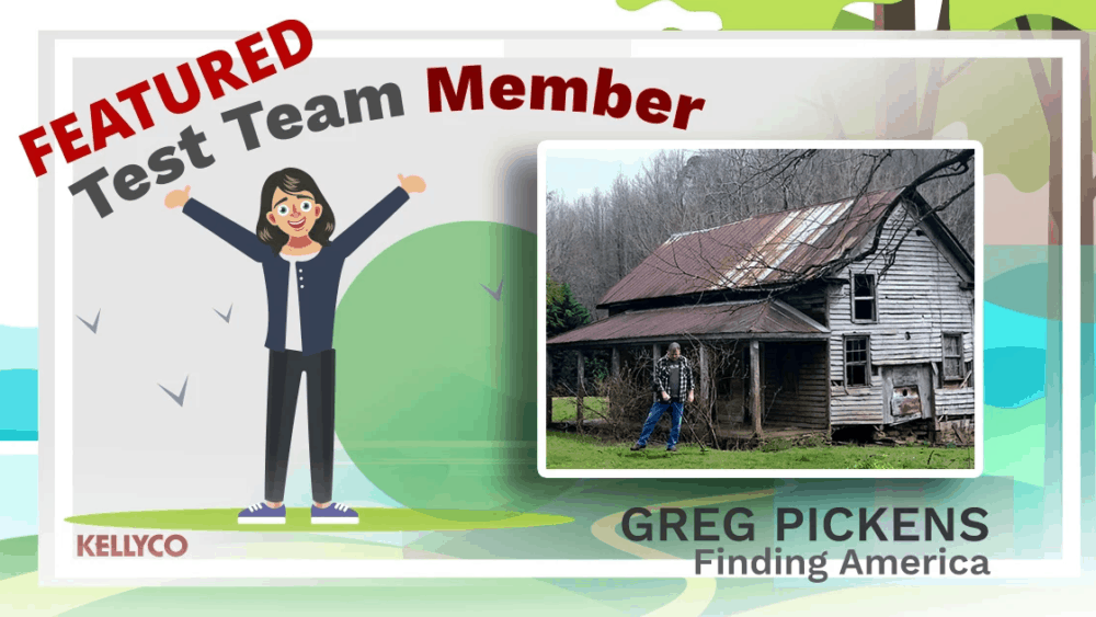 Featured Test Team Member - Greg Pickens