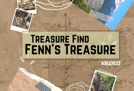 Treasure Finds Fenn's Treasure with Kellyco Metal Detectors
