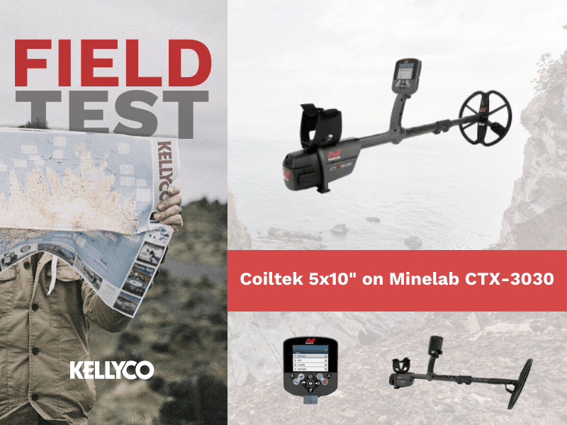 "Field Test: Coiltek 5x10"" on Minelab CTX-3030"