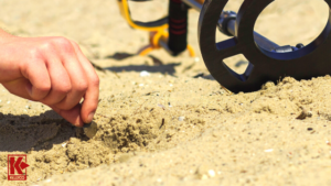 Finding coins with a metal detector on the beach can be much easier than you expect.