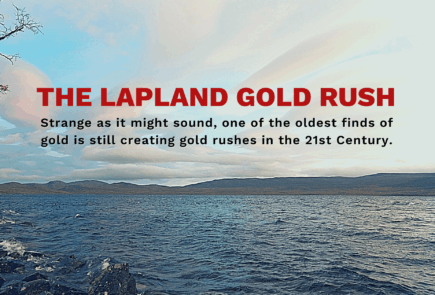 Gold Rush Hero Image - Lapland Gold Rush