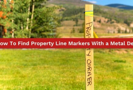 How To Find Property Line Markers With a Metal Detector