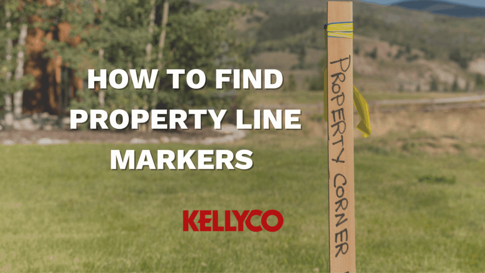 find property lines