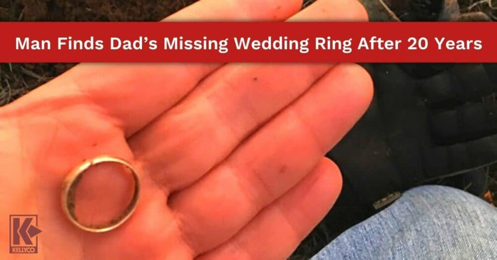 Man Finds Dad's Missing Wedding Ring After 20 Years