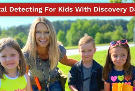 Metal Detecting For Kids With Discovery Daisy