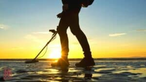 Metal Detecting In The Sunset