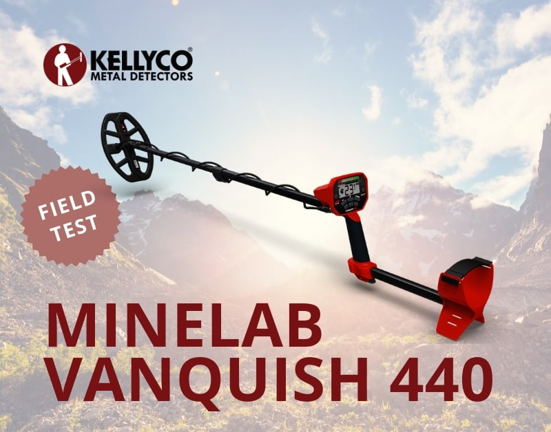 Minelab Vanquish 440 review from Kellyco Metal Detectors