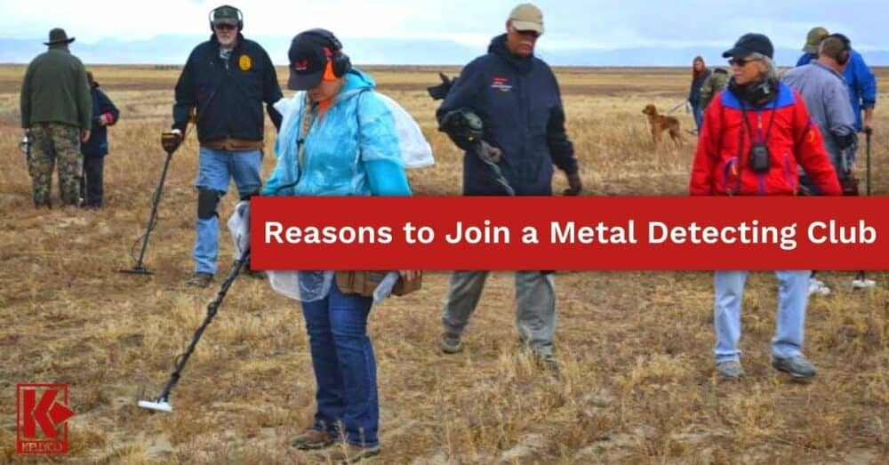 Reasons to Join a Metal Detecting Club