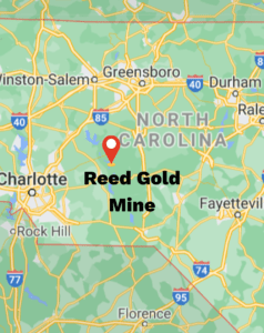 Reed Gold Mine Map