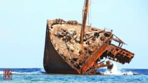 Shipwreck. Red Sea.