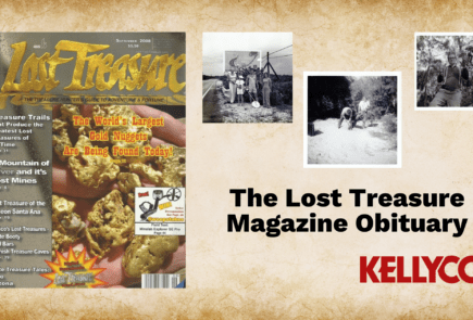 The Lost Treasure Magazine Obituary