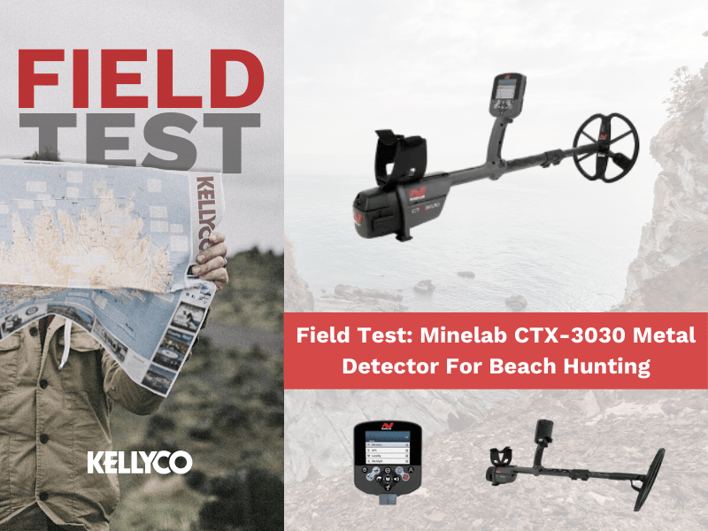 Field Test: Minelab CTX-3030 Metal Detector For Beach Hunting