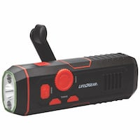 Kellyco Life Gear Crank Radio and Flashlight