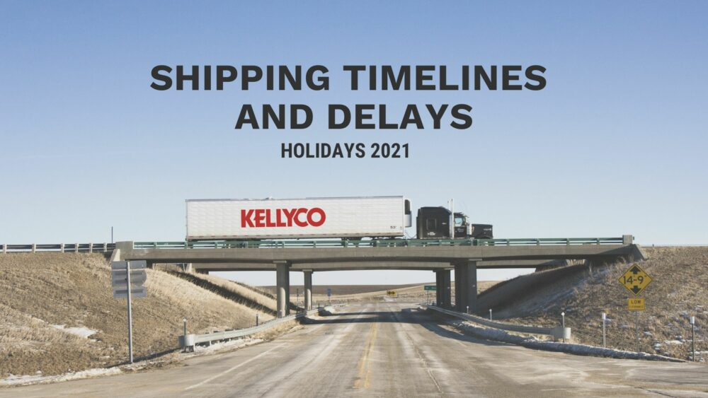 shipping timelines and delays