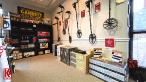 The selection of Garrett products at our Knoxville showroom.