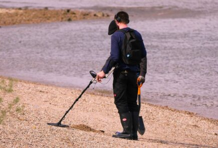 What to do with a metal detector